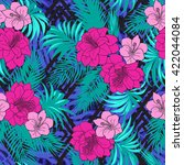 Tropical Floral Seamless...