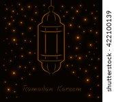 ramadan kareem celebration... | Shutterstock .eps vector #422100139