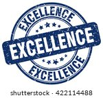 excellence. stamp | Shutterstock .eps vector #422114488