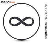infinity sign | Shutterstock .eps vector #422114770