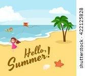 Summer Beach Vector  Summer...
