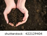soil  cultivated dirt  earth ... | Shutterstock . vector #422129404