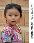 santa cruz guatemala may 03... | Shutterstock . vector #422160874