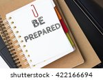 text be prepared on white paper ... | Shutterstock . vector #422166694
