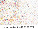 abstract colorful confetti... | Shutterstock .eps vector #422172574