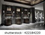 contemporary interior of public ... | Shutterstock . vector #422184220