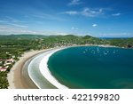 panorama view on resort of san... | Shutterstock . vector #422199820