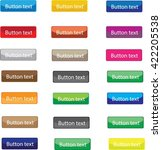 button set colorful. | Shutterstock .eps vector #422205538
