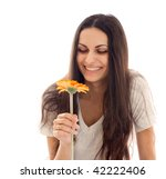 young beautiful woman with... | Shutterstock . vector #42222406