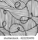 stylish doodle.vector... | Shutterstock .eps vector #422253490