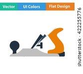 flat design icon of jack plane...