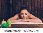 portrait of  sensual  pretty... | Shutterstock . vector #422257279