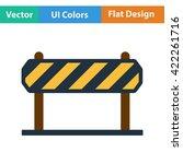flat design icon of  in ui...