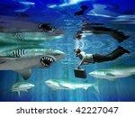 aggressive clients | Shutterstock . vector #42227047