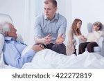 shot of a senior man lying on a ... | Shutterstock . vector #422272819