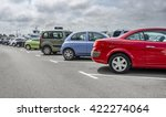 cars parked in the parking lot. ... | Shutterstock . vector #422274064