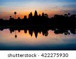 ancient temple in cambodia | Shutterstock . vector #422275930