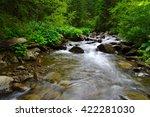 Mountain River Flowing Through...