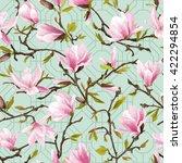seamless floral pattern....   Shutterstock .eps vector #422294854