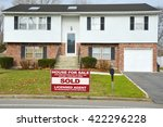 real estate sold  another... | Shutterstock . vector #422296228