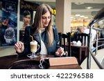 woman  | Shutterstock . vector #422296588
