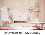 malay wedding setting with... | Shutterstock . vector #422300089