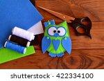 Felt Owl Embellishment. How To...