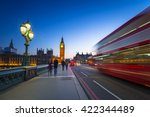 london scenery at westminster... | Shutterstock . vector #422344489