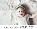 Portrait Of A 4 Month Cute Bab...