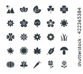 nature cool vector icons 3 | Shutterstock .eps vector #422365384