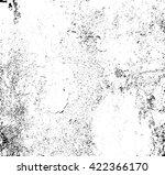 grunge texture. vector cement... | Shutterstock .eps vector #422366170
