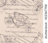 textile design  wallpaper ... | Shutterstock .eps vector #422367700