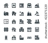 real estate cool vector icons 1 | Shutterstock .eps vector #422371120