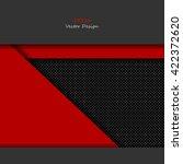 unusual modern material design...   Shutterstock .eps vector #422372620