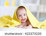 Cute Smiling Baby After Shower...