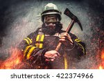 Rescue Firefighter Man In A...