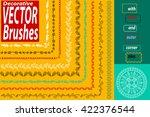 vector decorative scribble...   Shutterstock .eps vector #422376544