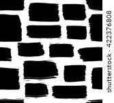 seamless pattern with black... | Shutterstock .eps vector #422376808