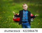 guy on the nature | Shutterstock . vector #422386678