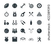 sports cool vector icons 1 | Shutterstock .eps vector #422389393