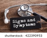 Stethoscope On Wood With Signs...