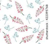 beautiful vintage pattern of... | Shutterstock . vector #422395768
