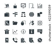 trade cool vector icons 3 | Shutterstock .eps vector #422399059