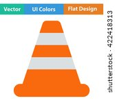 flat design icon of traffic...