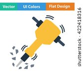 flat design icon of...