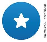 star icon design on blue...