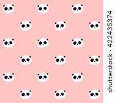 Vector Pattern  Panda Seamless...
