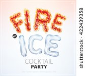 fire and ice banner for a...