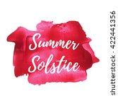 summer solstice holiday ... | Shutterstock .eps vector #422441356