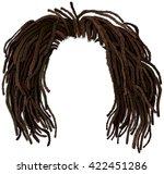 african hair dreadlocks ... | Shutterstock .eps vector #422451286